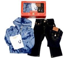 baby true religion | True Religion 3 Piece Gift Set for Boys