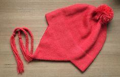 Baby Alpaca Chullo Hat in Blood Orange. Coming soon to alpacaclothingsto... #babyalpaca #chullo #alpacahat #alpacaclothingstore #alpaca