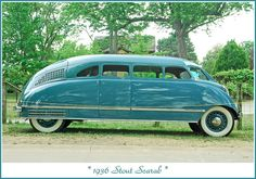 1936 Stout Scarab in blue