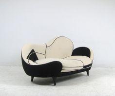 Sofa Saula Marina aus der LOS MUEBLES AMOROSOS Serie, Design von Javier Mariscal für Moroso. Entwurf von 1995.. #sofa