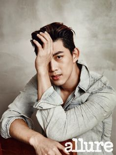 On March 25, the beauty and lifestyle magazine Allure Korea features Taecyeon of 2PM in their April issue.