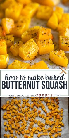 Baked Butternut Squash is an incredibly healthy and easy vegetable side dish. Roasted to perfection, this flavorful squash is delicious! I'm not even a huge fan of butternut squash, but for some reason I couldn't get enough! #butternut #squash #baked #roasted #best #recipe #howto Easy Vegetable Side Dishes, Healthy Vegetable Recipes, Vegetable Sides, Veggie Dishes, Squash Vegetable, Food Dishes, Butter Squash Recipe, Butternut Squash For Baby, Kochen
