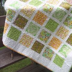 French Window Panes Quilt Kit