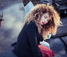 """Since reaching super producer status in the UK with 2011 chart-topper """"Louder"""", DJ Fresh has racked up Dj Fresh, Ella Eyre, Curly Hair Styles, Natural Hair Styles, Tori Kelly, Aesthetic Grunge, About Hair, Big Hair, Natural Looks"""