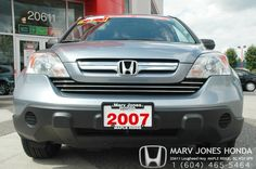 Here is one of our latest pre-owned vehicles in our lineup. 2007 Honda CR-V. Excellent condition!