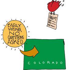 Colorado Has Early Voting