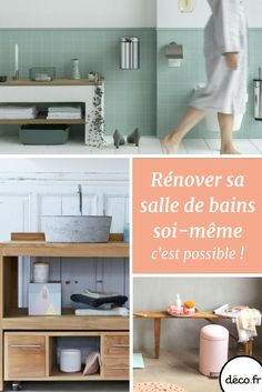 Dalle murale pvc beige dumawall x salle de bain ba - Decorer sa salle de bain soi meme ...