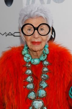 Iris Apfel's crucial career advice for working in fashion