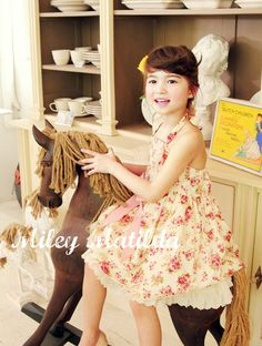 Fashion for Kids at Miley Matilda.    Sara, this looks like you at about ten years old!