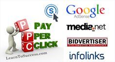 Best PPC (Pay per Click) Ad Networks For Publisher and Advertisers. List of some top and highest paying PPC sites.