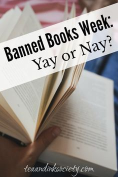 Banned Books Week gets national recognition each year. But is book censorship really a national issue? Here\'s one book blogger\'s take on Banned Books Week and the hype surrounding it. #bannedbooks Book Club Books, Book Lists, Books To Read, Gender Politics, Elementary School Library, Starting A Book, American Library Association, Rhyme And Reason, Cool Books