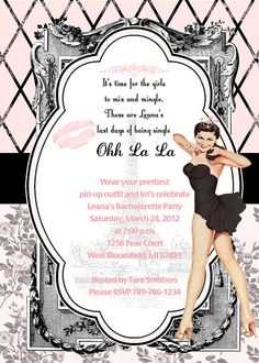 pin up girl bachelorette party