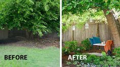 How to make a shady corner garden