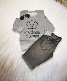 369267f6 Dog Lover Sweatshirt Labrador Dog Shirt Womens Pullover Jumper Labrador  Shirt Dog Mom Shirt Teens Sw