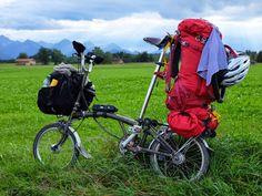 Brompton Multi-Modal Bike Touring ~ The Brompton Traveler