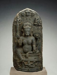 Varahi, wife of the Hindu deity Vishnu in his form as a boar Place of Origin: India, Bihar state Date: Materials: Stone Style or Ware: Pala Hindu Deities, Hinduism, Southeast Asian Arts, Sculptures, Lion Sculpture, Indian Temple, Divine Mother, Central Asia, Antiquities