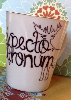 Expecto Patronum Harry Potter Mug