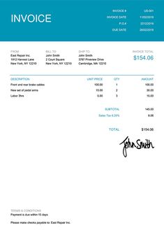 Invoice Template Us Contemporary Teal Invoice Template, Invoice Sent, Receipt Template, Templates, Credit Note, Credit Card Readers, Roblox Shirt, Marketing Tools, Event Venues