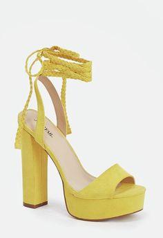 88a9bdf94 Spencer Heeled Sandal · Yellow Shoes ...