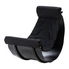 IKEA - FLAXIG, Balansstoel, , De stoel is gemaakt voor het trainen van het evenwicht, maar is ook lekker om op te zitten, bv. om te gamen.De vorm zet het kind tijdens het zitten aan tot bewegen en schommelen, wat beter is voor het lichaam dan stilzitten.