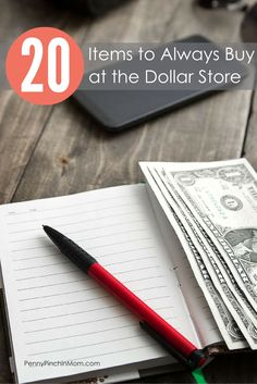 When it comes to shopping at the Dollar Store, there are a LOT of items you can buy. Of course, many of these are sold at other retailers too. What are the TOP 20 items you should ALWAYS buy at the Dollar Store?
