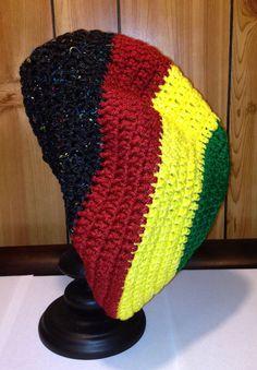 Rasta Hat by FancySchmancyCrochet on Etsy, $30.00