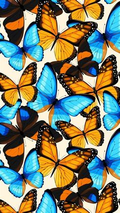 Good Morning, Beautiful. I Miss You. | Butterfly Wallpaper