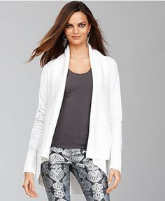 Lightweight white cardigan for summer | LMB Styles | Pinterest ...