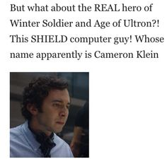 WE NOW HAVE A NAME FOR HIM. YES, IT'S ABOUT TIME!!! I've just been calling him Fitz #2 this whole time. When this part came on, I've never been so happy for a minor character's return!