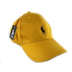 Ralph Lauren Chino Hat Yellow RL5060 ,the greatest discount, 77% off.