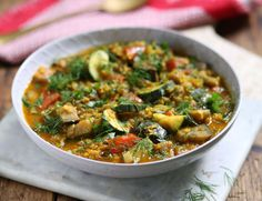Persian Aubergine & Lentil Stew Recipe | Abel & Cole