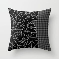 #abstract #abstraction #grid #squares #black #white #projectm #projectmgallery #geometric #triangles