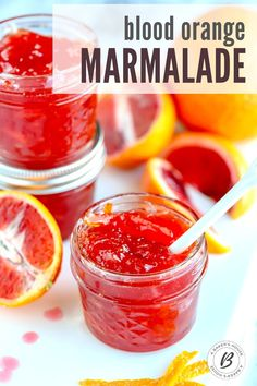 Make homemade blood orange marmalade to capture the bright citrus flavor and color of this gorgeous fruit! Preserving at home can be easy with this step by step process that I used from the Ball Blue Book of Preserving. #marmalade #howtomakejam #bloodorange #oranges #canning Jam Making, How To Make Jam, Tasty, Yummy Food, Lemon Curd, Marmalade, Blood Orange, Drip Coffee, Fruit Recipes
