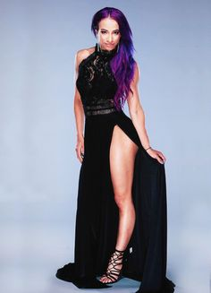 Sasha Banks at HOF I want to take my Time to fuck the hell out Boss Sasha Banks Wrestling Stars, Wrestling Divas, Women's Wrestling, Divas Wwe, Wwe Divas Paige, Carmella Wwe, Wwe Sasha Banks, Wwe Girls, Wwe Ladies