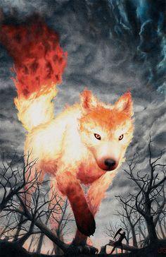 fire wolf