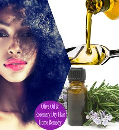 If you have natural hair, the olive oil- rosemary treatment is a very simple DIY home remedy for moisturizing a dry scalp and brittle ends.