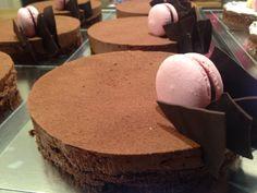 Chokoladekage fra Odense Chokoladehus.