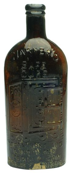Auction 25 Preview | 724 | Warner's Safe Cure Rochester Toronto Melbourne London Bottle