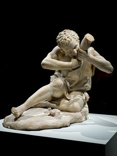 One of Two Boys Fighting Over a Game of Knucklebones 1st century CE Roman copy of 2nd century BCE original from Rome (2)