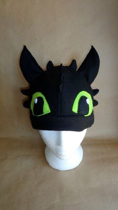 Toothless Hat, How to Train Your dragon inspired by EpicInspiration on Etsy https://www.etsy.com/listing/238348823/toothless-hat-how-to-train-your-dragon