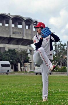 Tigers Pitcher [No.36] 심동섭 - 일본 오키나와 차탄 구장