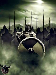 Vikings by ~ casperart #vikings #norse #warriors pic.twitter.com/kmRqV13xVV