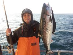 Charter a boat and go fishing in the Monterey Bay