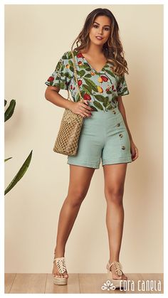 LOOK BOOK 01 • Coleção Zamá • Cora Canela Summer Outfits, Summer Dresses, Chor, Comfy Casual, Fashion Outfits, Womens Fashion, Fashion Ideas, Short Girls, Ideias Fashion