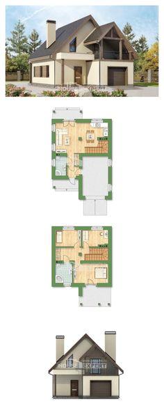 Ev villa projesi 120-005-L | House Expert