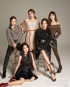Joy, Yeri, Seulgi, Irene and Wendy Wendy Red Velvet, Red Velvet イェリ, Irene Red Velvet, Red Velvet Seulgi, Kpop Girl Groups, Kpop Girls, Mamamoo, Red Velvet Photoshoot, Red Velet