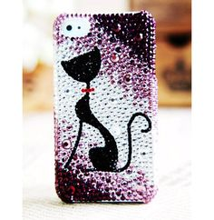 Bling Bling Crystal Cutest Kitty Phone Case