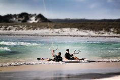 Kitesurfing Kiteboarding Wild Western Australia with Uncle Steve