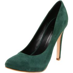 beautiful - Dolce Vita emerald suede pumps