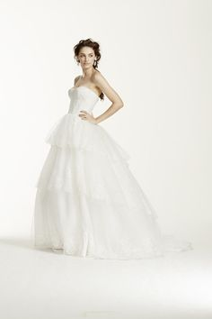 1000 images about gorgeous wedding gowns on pinterest for David s bridal clearance wedding dresses